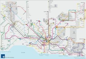 Transport Lausanne Map